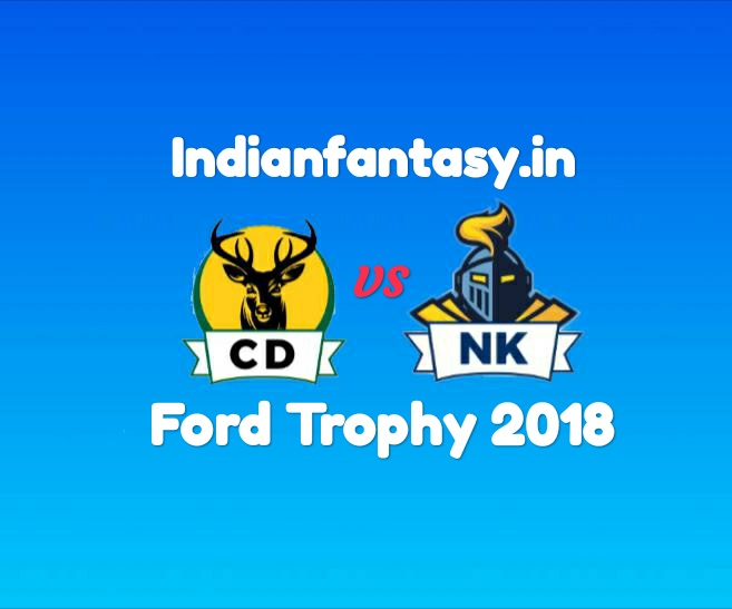 CD vs NK Dream11 prediction and probable11 for ford