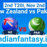 NZ vs PAK Dream11 prediction 2nd T20I