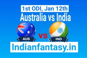 AUS vs IND Dream11 prediction 1st ODI