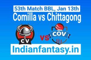 CV vs COV Dream11 prediction